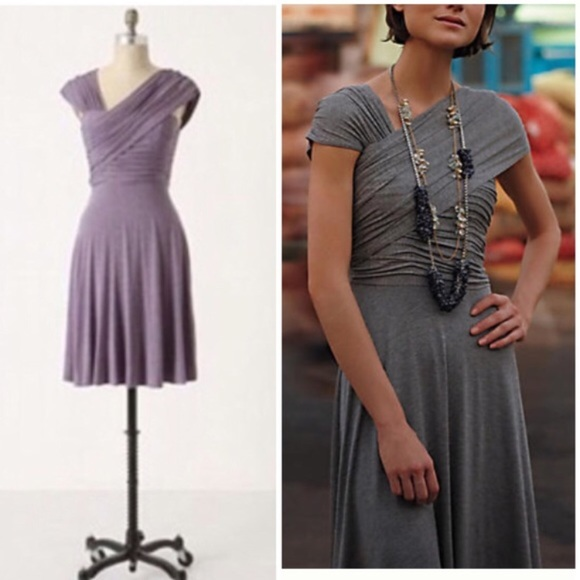 43914ca3fe87 Anthropologie Dreamy Drape Dress Heather Lavendar.  M_5b673a6acdc7f7ac70072304. Other Dresses you may like. Plenty by Tracy  Reese ...